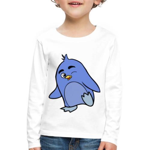 Pinguino - Maglietta Premium a manica lunga per bambini