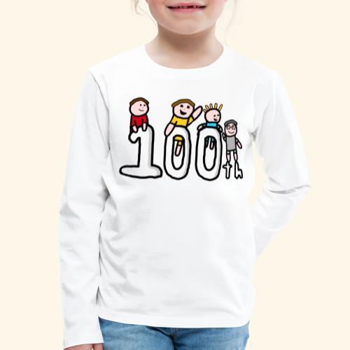 100th Video - Kids' Premium Longsleeve Shirt