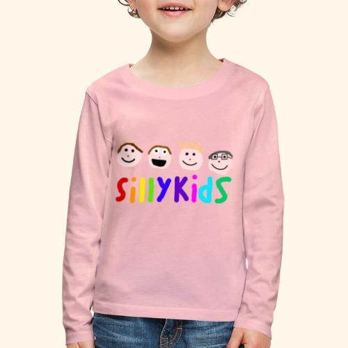 Sillykids Logo - Kids' Premium Longsleeve Shirt