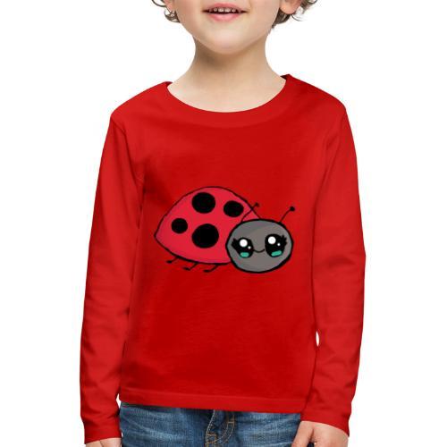 Pirouette la coccinelle - T-shirt manches longues Premium Enfant