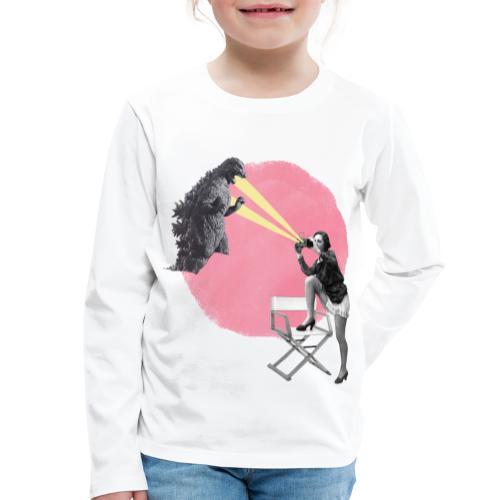 cine vintage - Camiseta de manga larga premium niño