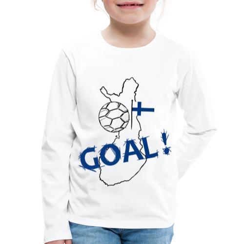 football Finlande - T-shirt manches longues Premium Enfant