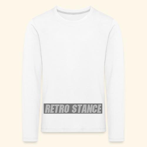 Retro Stance - Kids' Premium Longsleeve Shirt