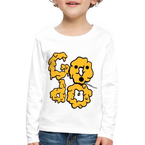 Godo - Maglietta Premium a manica lunga per bambini