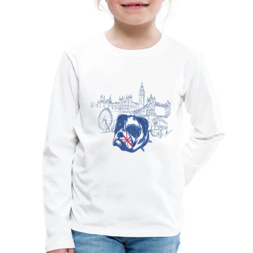 London - Långärmad premium-T-shirt barn