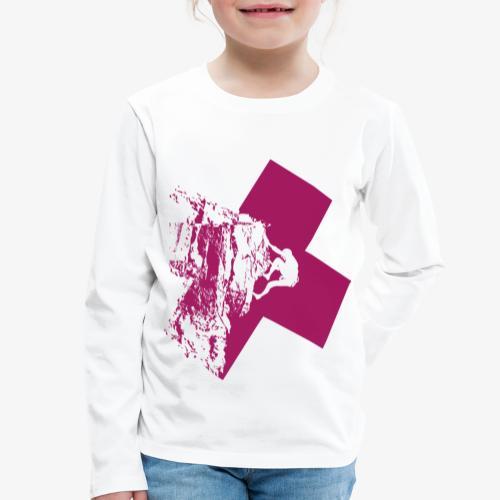 Climbing away - Kids' Premium Longsleeve Shirt