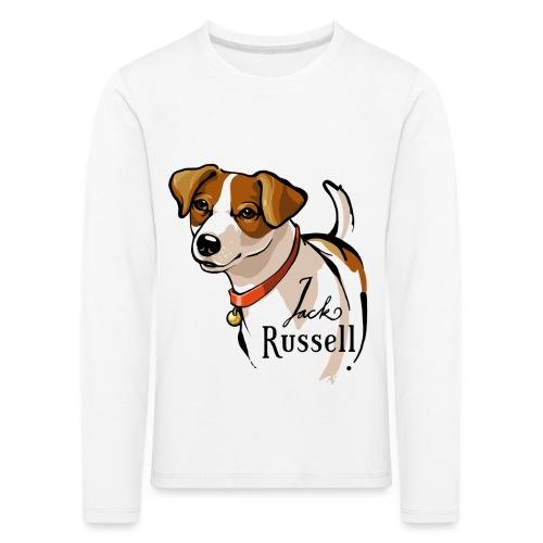 Jack Russell - Kinder Premium Langarmshirt
