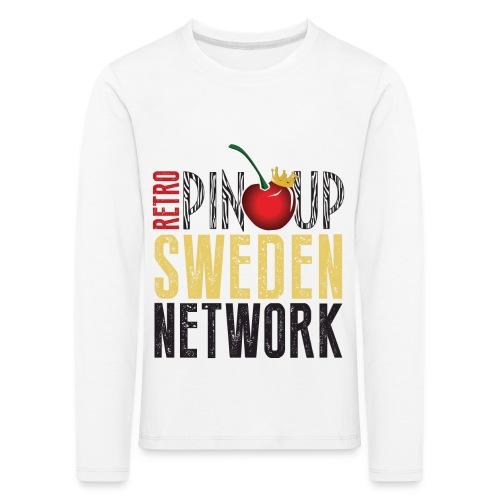 Tanktop Retro Pinup Sweden Crew utsvängd - Långärmad premium-T-shirt barn