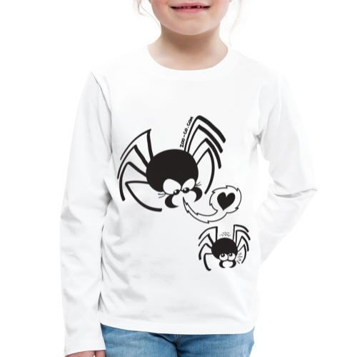 Dangerous Spider Love - Kids' Premium Longsleeve Shirt
