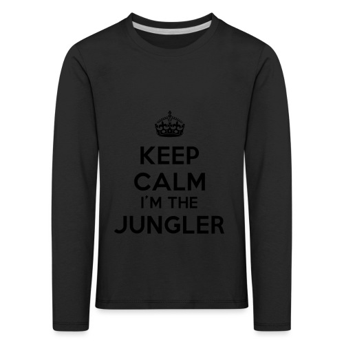 Keep calm I'm the Jungler - T-shirt manches longues Premium Enfant