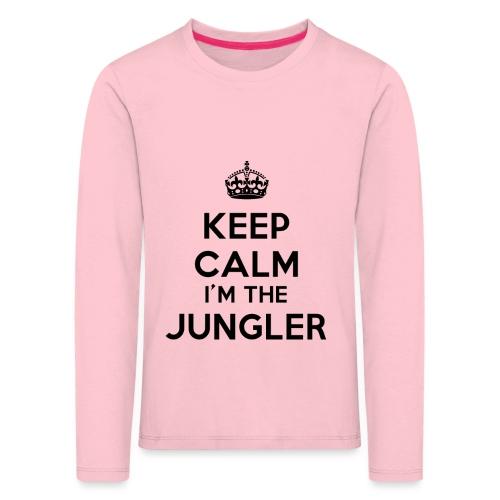 Keep calm I'm the Jungler - T-shirt manches longues Premium Enfant