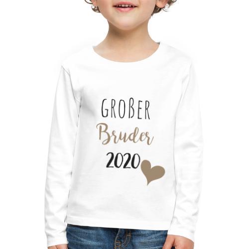 Großer Bruder 2020 - Kinder Premium Langarmshirt