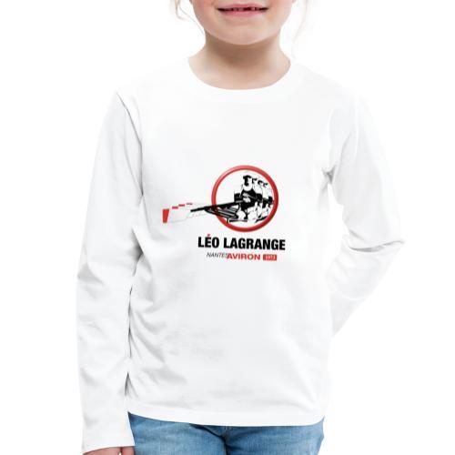 Léo Lagrange Nantes Aviron - T-shirt manches longues Premium Enfant