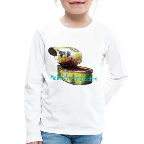 Mein Sternzeichen... Fische - Kinder Premium Langarmshirt