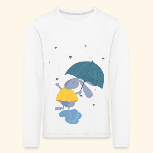 happy in the rain - Kids' Premium Longsleeve Shirt