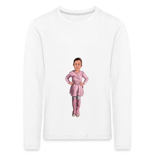Little Ballerina - Kinder Premium Langarmshirt