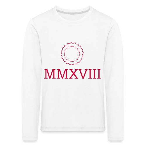 MMXVIII - logo - T-shirt manches longues Premium Enfant
