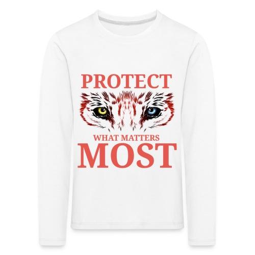 T.Finnikin Designs - Protect - Kids' Premium Longsleeve Shirt