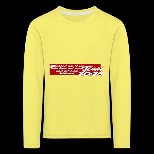 OVER REASON 2 - Camiseta de manga larga premium niño
