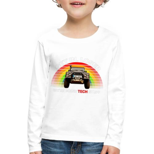 We're Doing Tech Stuff - Kids' Premium Longsleeve Shirt