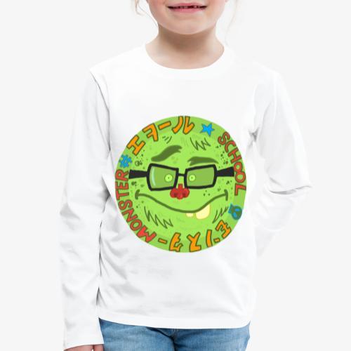 School.Monster - T-shirt manches longues Premium Enfant
