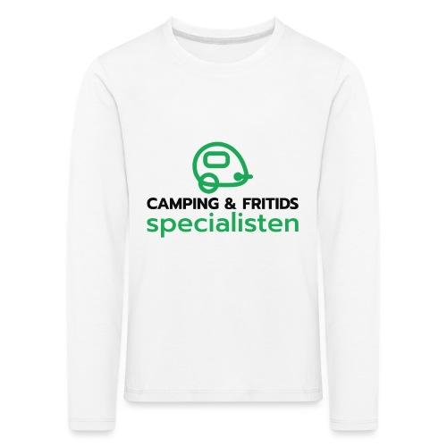 Camping & Fritidsspecialisten - Långärmad premium-T-shirt barn