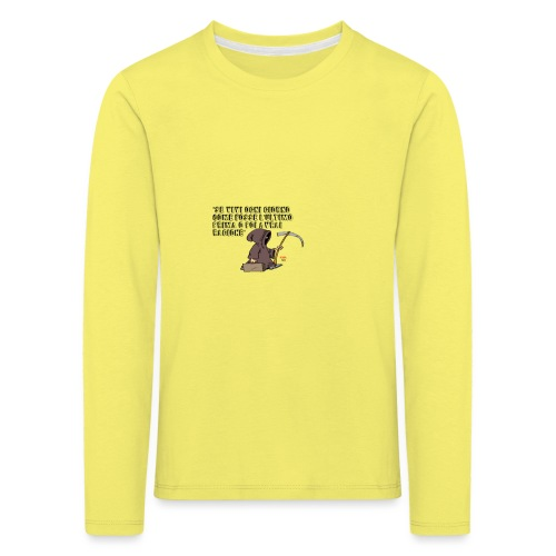 Comicità - Maglietta Premium a manica lunga per bambini
