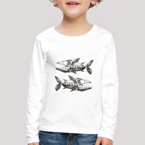 FishEtching - Kids' Premium Longsleeve Shirt