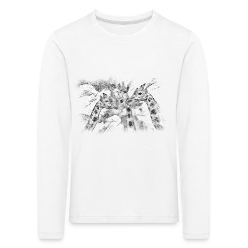 les girafes bavardes - T-shirt manches longues Premium Enfant