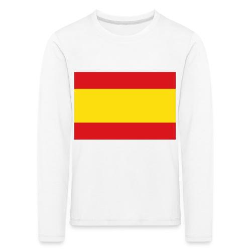 vlag van spanje - Kinderen Premium shirt met lange mouwen
