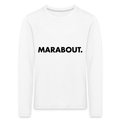 MARABOUT® - Wij helpen, Gambia ontwikkelt - Kinderen Premium shirt met lange mouwen