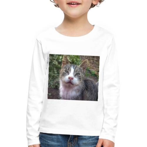 Katze Max - Kinder Premium Langarmshirt