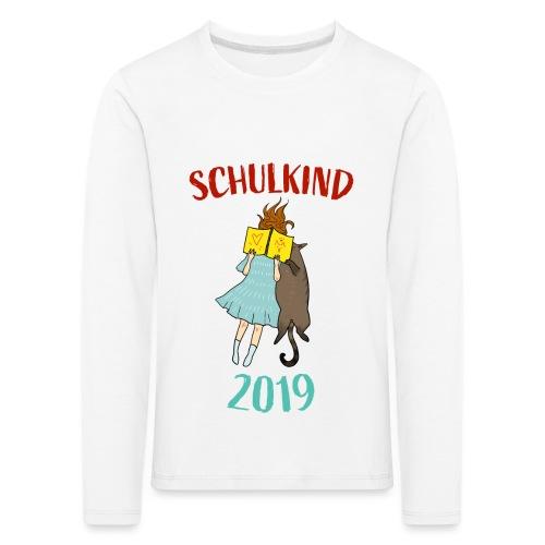 Schulkind 2019 | Einschulung und Schulanfang - Kinder Premium Langarmshirt