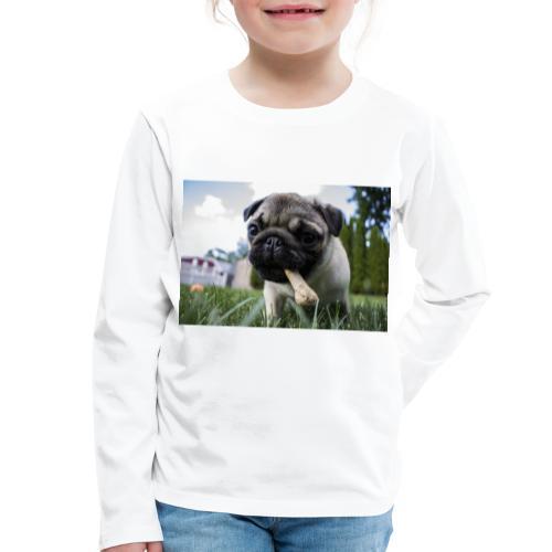 puppy dog - Kinder Premium Langarmshirt