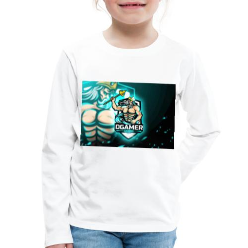 8251831F EA3A 4726 A475 A5510CDECB5A - Långärmad premium-T-shirt barn