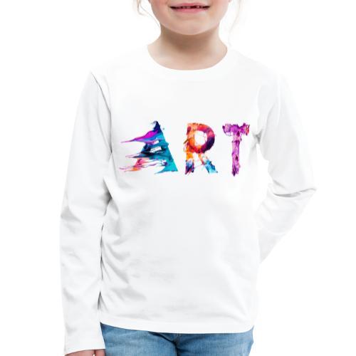 Art - T-shirt manches longues Premium Enfant