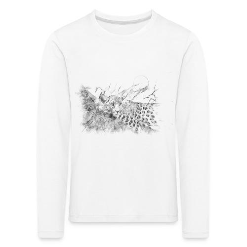 La panthère dans l'arbre - T-shirt manches longues Premium Enfant