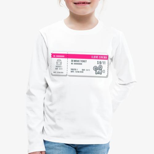 Cinema 2 - Camiseta de manga larga premium niño