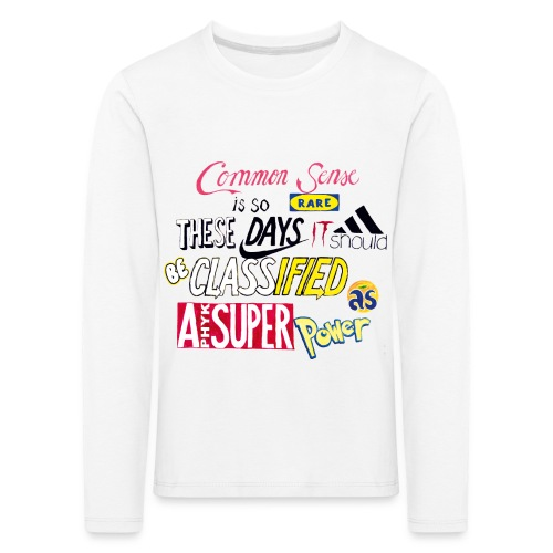 PHYK-logoja - Lasten premium pitkähihainen t-paita