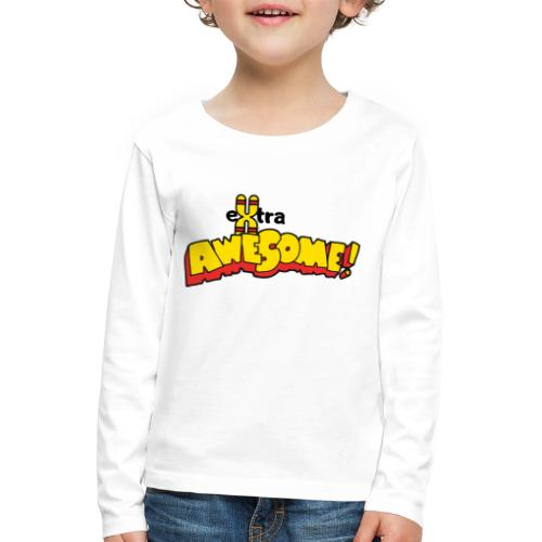 eXtra Awesome Down's Syndrome Tee - Kids' Premium Longsleeve Shirt