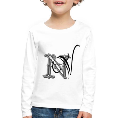nV Collections - Maglietta Premium a manica lunga per bambini