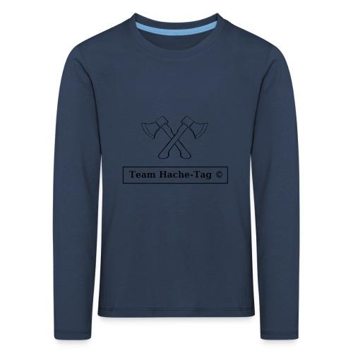 Logo Team Hache-Tag - T-shirt manches longues Premium Enfant