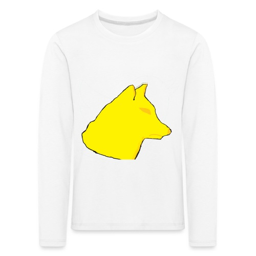 wolfes - Børne premium T-shirt med lange ærmer