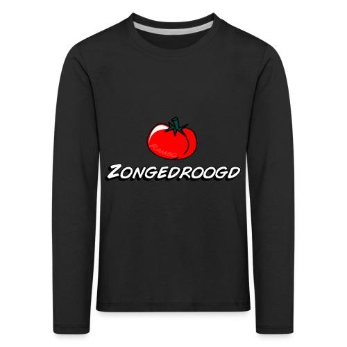 ZONGEDROOGD - Kinderen Premium shirt met lange mouwen