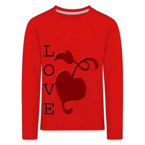 Love Grows - Kids' Premium Longsleeve Shirt