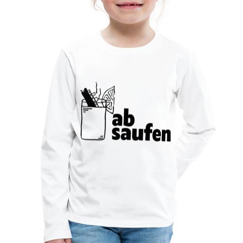 absaufen - Kinder Premium Langarmshirt