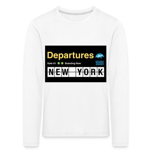 Departures Defnobarre 1 png - Maglietta Premium a manica lunga per bambini