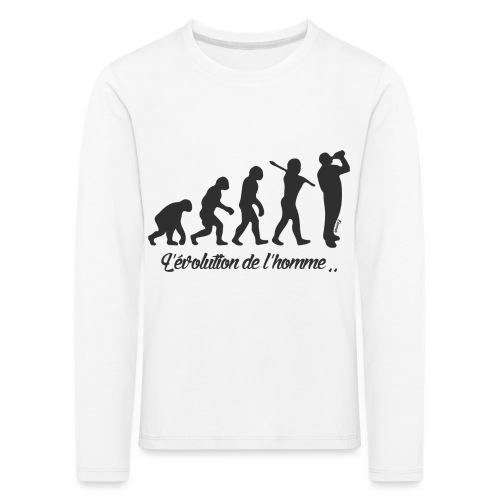 évolution homme (H) - T-shirt manches longues Premium Enfant