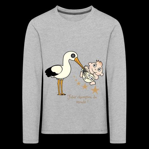 Foot futur champion - T-shirt manches longues Premium Enfant