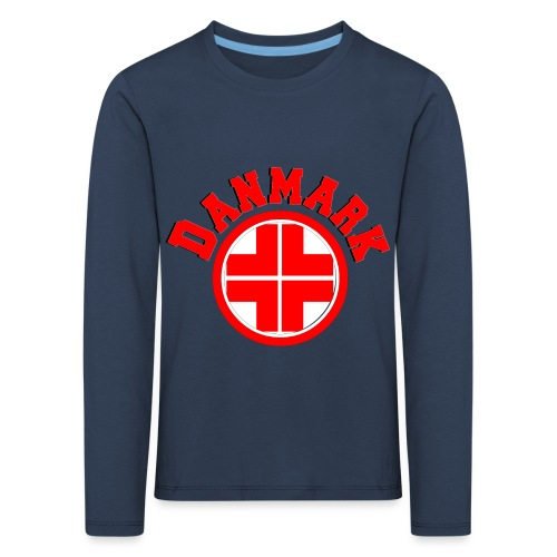 Denmark - Kids' Premium Longsleeve Shirt